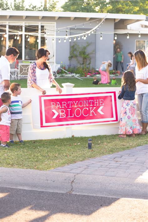throw  block party  destiny