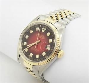 Uhr Rolex Herren : rolex datejust herren uhr mit diamanten stahl gold ebay ~ Kayakingforconservation.com Haus und Dekorationen
