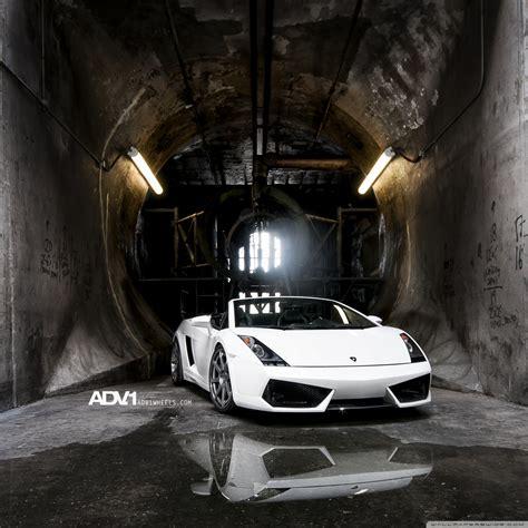 Adv.1 Lamborghini Gallardo Spyder 4k Hd Desktop Wallpaper