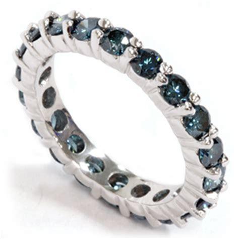 2ct Treated Blue Diamond Eternity Ring 14k White Gold. Kyanite Pendant. Sapphire Anklet. Petrified Wood Wedding Rings. 14kt Chains. Volcano Bracelet. Cross Bangles. Heart Necklace. Black Pearl Rings