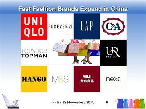 fast fashion brands expansion  china