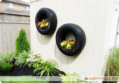 diy projects   recycled tires  pictures