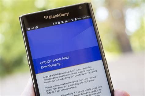 blackberry rolls out their android beta build to