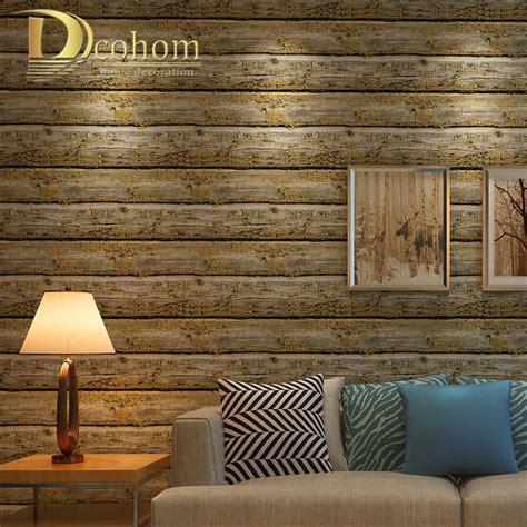 american vintage striped wooden wallpaper  walls