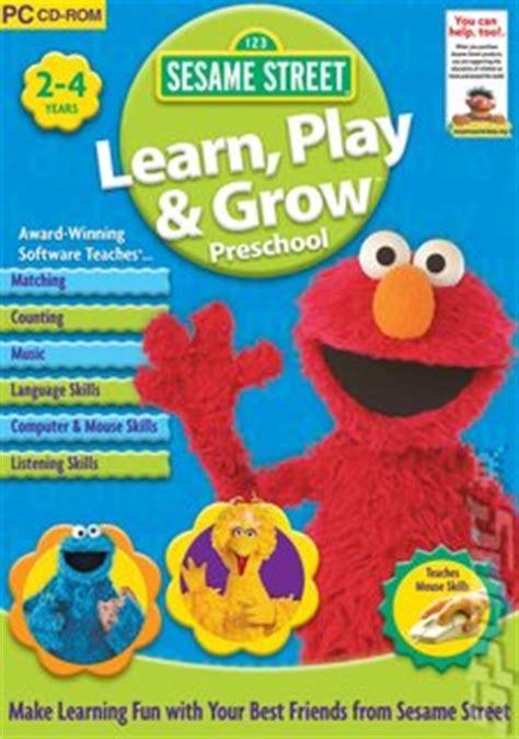 sesame learn play amp grow preschool pc 679   Sesame Street Learn Play Grow Preschool PC
