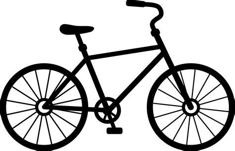 black cycling bicycle clipart clipart panda free clipart images
