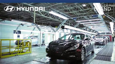 Hyundai  Manufacturing Plant  Us Youtube