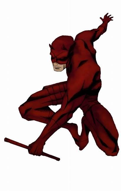 Daredevil Clipart Silhouette Fear Clip Comic Transparent