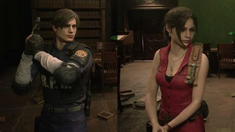 Resident Evil 2 Lets You Unlock Leon And Claires Classic