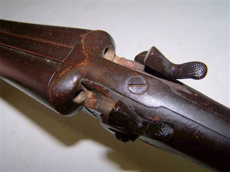 W Richards Sxs Exposed Hammer Shotgun 12 Gauge For Sale