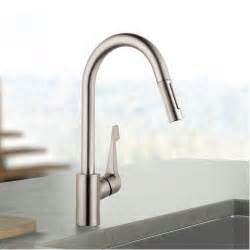 waterridge kitchen faucet hansgrohe cento kitchen faucet solid brass steel optik finish ebay