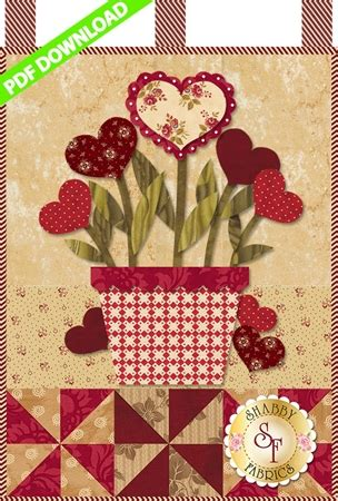 shabby fabrics downloads little blessings blooming hearts pdf download