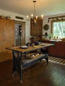 primitive kitchen island primitive kitchen country antique decorating