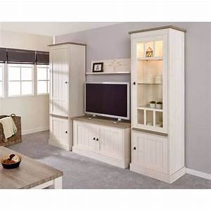 Meuble Tv Beige : meuble tv contemporain 122 cm ch ne beige m l ze samos matelpro ~ Teatrodelosmanantiales.com Idées de Décoration