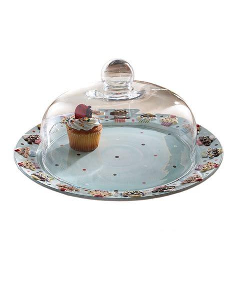 cake plate dome libbey  selene  piece cake dome   clear