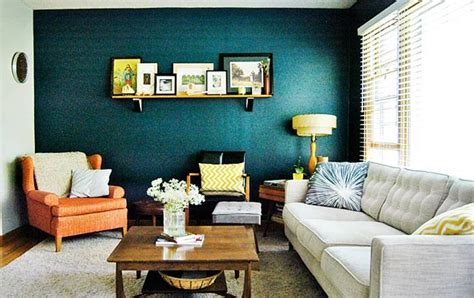 Teal And Grey Living Room Walls by Accent Wall Living Room Search Home
