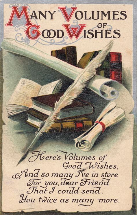 vintage clip art books scrolls plumes