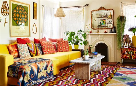 Boho Chic-a Bold Organic Take On Vintage Living