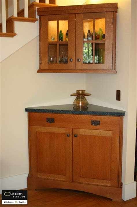 designing of kitchen custom corner cabinets 3309
