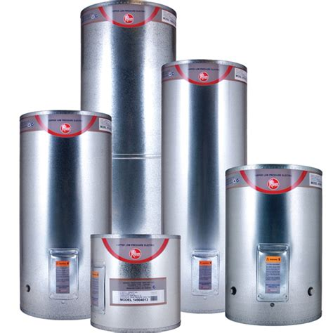 Rheem Low Pressure Electric Water Heater 180l Copper
