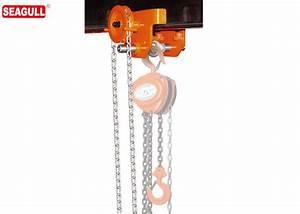 Heavy Duty 5 Ton Push Travel Trolley   Manual Chain Block