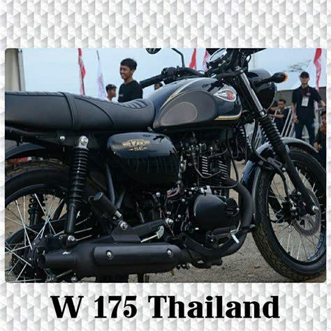 Kawasaki W175 Hd Photo by Kawasaki W175 Thailand Product Service 70