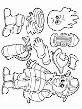 Firefighter Coloring Printable Bright Colors Favorite sketch template