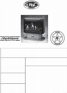 United States Stove Gas Heater B9945l User Guide