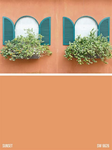 who are of color sherwin williams orange paint color sunset sw 6626