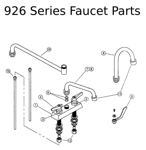 Faucet Parts by Perlick Repair Parts For 926 Series Faucet Parts