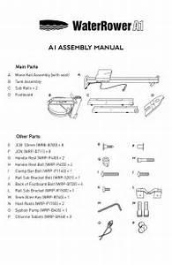 Waterrower Manual De Montaje A1 By Mundo Fitness Spain