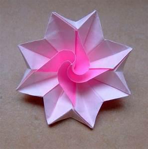 Comment Faire Des Choses En Papier : un origami facile fleur offrir ou pour vous amuser ~ Zukunftsfamilie.com Idées de Décoration
