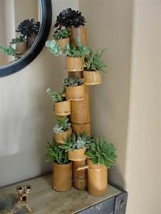 Gros Bambou Deco : que faire avec des bambous trouvailles exotiques en 60 photos ~ Teatrodelosmanantiales.com Idées de Décoration