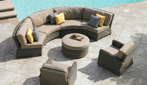 curved patio couches couch sofa ideas interior design