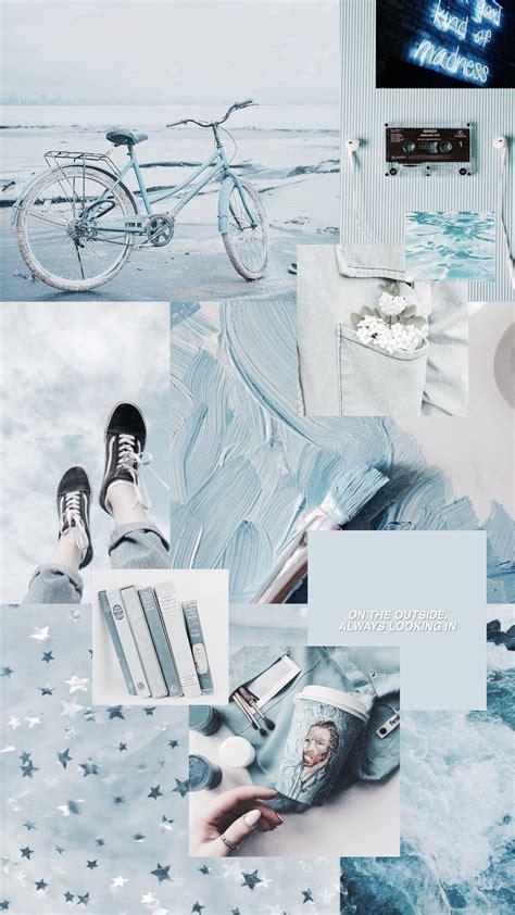 iphone sthetische pastellhomescreen collage wallpaper