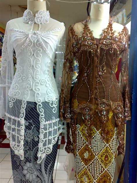 fashion kebaya akad nikah modern  model desain baju