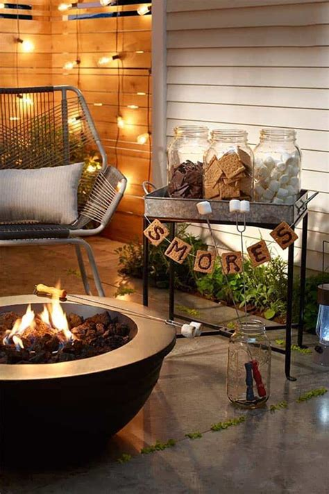 fall inspired outdoor living spaces   ultra cozy