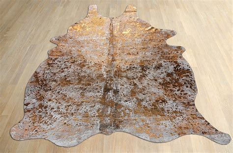 Metallic Cowhide by Funky Finds Friday Metallic Cowhide Rug Mod Interiors