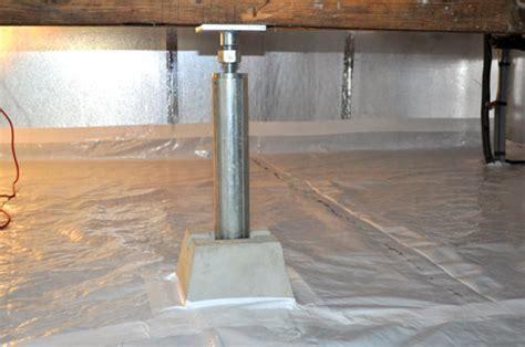 SmartJack? Crawl Space Stabilizer   Adjustable Floor Joist