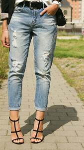 How to wear a boyfriend Jeans - Outfit 4