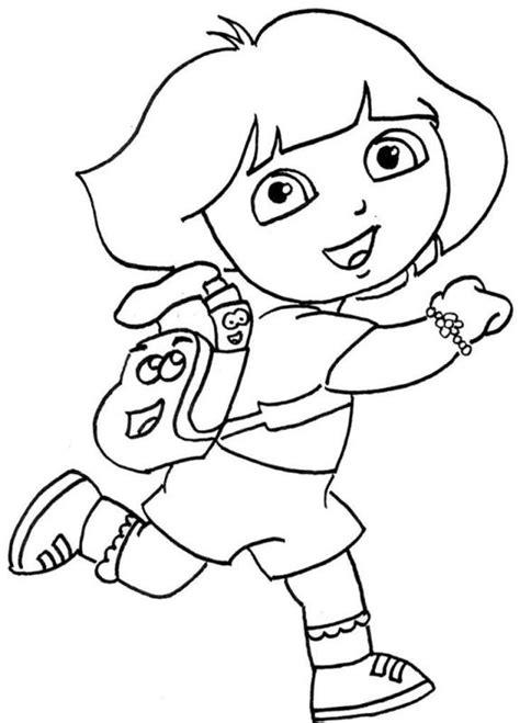buku belajar mewarnai gambar the explorer untuk anak