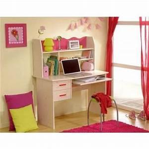 Bureau Enfant Fille : bureau enfant lola achat vente bureau bureau enfant lola cdiscount ~ Teatrodelosmanantiales.com Idées de Décoration