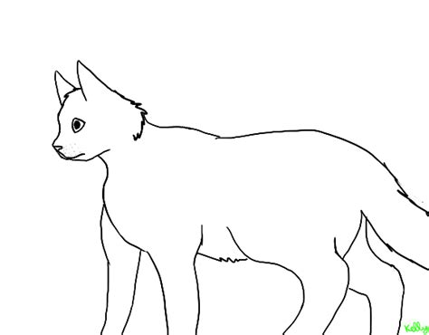 warrior cat template free warrior cat lineart base template by tigerlily2222 on deviantart