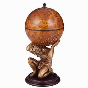 Bar Globe Terrestre : foxhunter vintage globe mini bar atlas wine drink cabinet antique storage bottle ebay ~ Teatrodelosmanantiales.com Idées de Décoration