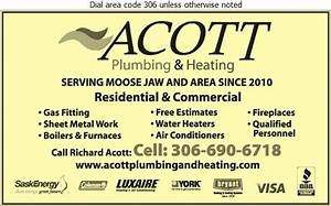 Acott Plumbing  U0026 Heating - Moose Jaw - Sk