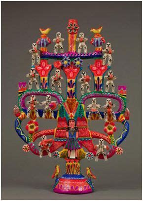 National Museum of Mexican Art, Chicago. trees of life are ...