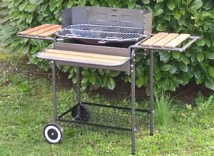 Barbecue De Jardin : barbecue a charbon megagrill 2 niveaux et tournebroche ~ Premium-room.com Idées de Décoration