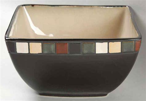 home trends mosaic tile square serving bowl 8786260 ebay