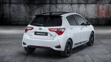 toyota yaris gr sport facelift thecarsspycom