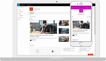 Sharepoint Server Microsoft Modern Ui Mobile Platform
